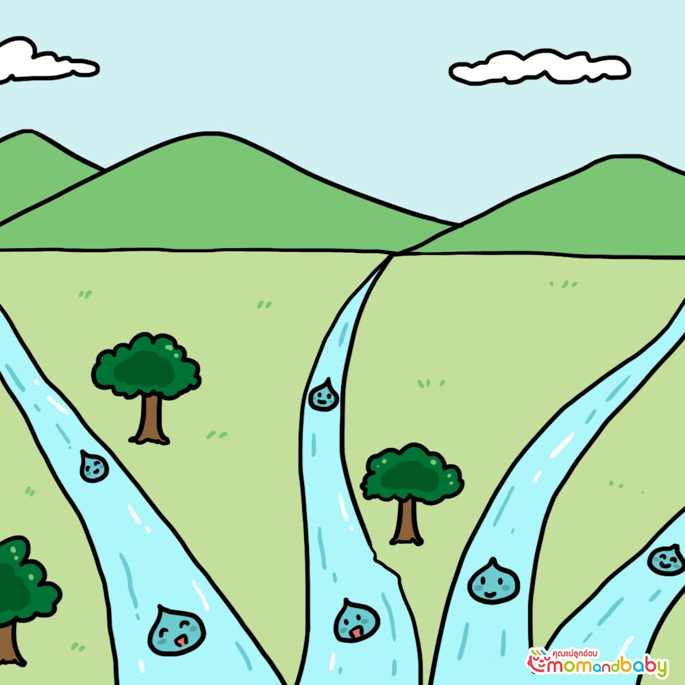 น้ำของเราหวานและดื่มได้ก่อนที่เราจะมาหาคุณ ทำไมคุณถึงเปลี่ยนน้ำให้เค็มและทำให้ดื่มไม่ได้